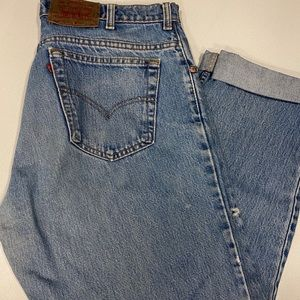 """""""Mom"""" jeans / mans jeans"""